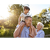 Enkel, Zuneigung, Großeltern