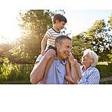 Grandson, Affection, Grandparent