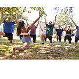 Fitness, Balance, Yoga Exercises