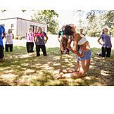 Yoga, Yogagruppe, Rückbeuge