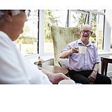 Communication, Nursing Home, Coffee Drink