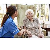 Seniorenresidenz, Altenpflege, Betreutes Wohnen