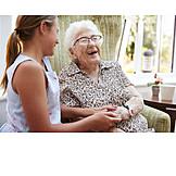 Grandmother, Affection, Grandchild
