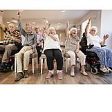 Seniors, Gymnastics, Retirement Home