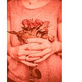 Valentinstag, Rosenstrauß, Blumengeschenk