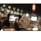 Soccer, Smart phone, Filming