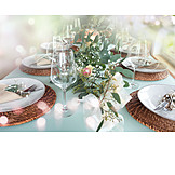 Wedding, Table Decoration