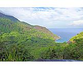 Silhouette, Seychelles