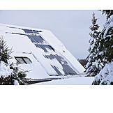 Photovoltaics, Solar Plant, Solar House