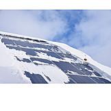 Winter, Heat Energy, Solar Roof