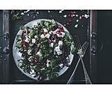 Salad, Feta cheese