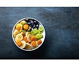 Fruit, Breakfast, Yogurt