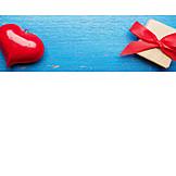 Herz, Geschenk, Valentinstag