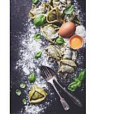 Zutaten, Tortellini, Italienische Küche