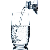 Pouring, Mineral water, Drinking water