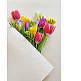 Mothers Day, Packing, Spring Bouquet