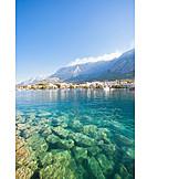 Adriatic sea, Makarska