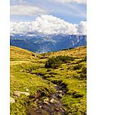 Mountain stream, South tyrol