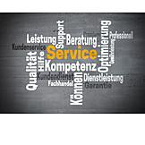 Service, Word Cloud