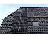 Solarstrom, Photovoltaikanlage, Solardach