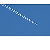 Airplane, Vapor Trail, Aviation