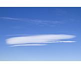 Sky, Clouds, Lenticularis