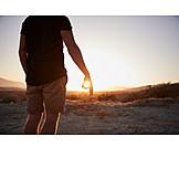 Sun, Sunset, Capture
