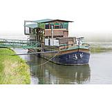 Gaststätte, Hausboot