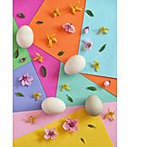 Bunt, Floral, Osterzeit