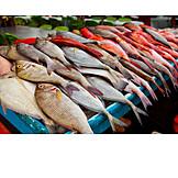 Fish, Market Stall