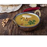 Indische Küche, Linsensuppe, Mulligatawny