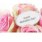Mothers Day, Rose Bouquet, Happy Mother's Day