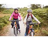 Kinder, Mountainbike, Radtour