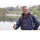 Aktiver Senior, Outdoor, Wanderurlaub