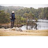 Active Seniors, Outdoor, Hiking Vacation