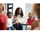 Bildung, Kindergarten, Kindergärtnerin