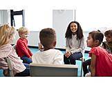 Communication, Preschool, Chair Circle