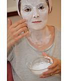 Naturkosmetik, Hautpflege, Gesichtsmaske