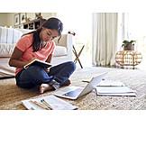 Girl, Home, Homework
