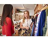Boutique, Beratung, Kundengespräch