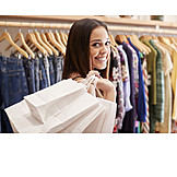 Happy, Fashion, Shopping