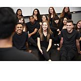Ausbildung, Zuhören, Schauspielschule