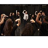 Bildung, Klasse, Schauspiel