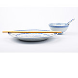 Asian Cuisine, Tableware