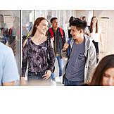 Friendship, School, Flirting