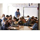 Writing, School Children, Exam