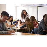Schüler, Unterricht, Klassenzimmer