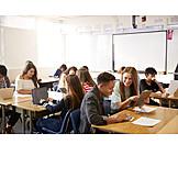 Teamarbeit, Schüler, Unterricht