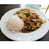 Chinesische Küche, Kung Pao Garnelen, Kung Pao