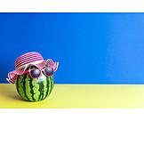 Sommer, Sonnenschutz, Wassermelone